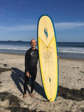 Surfer Monk