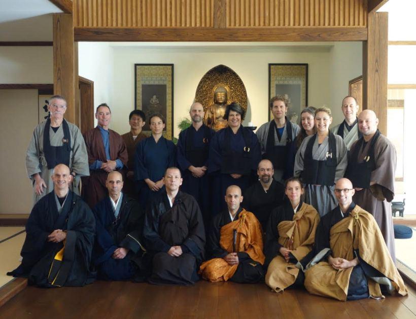 2017-10 Eiryu-ji Sangha at DBZ